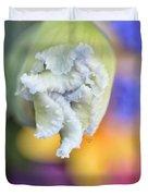Rainbow Iris Duvet Cover