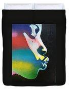 Rainbow Kiss Duvet Cover