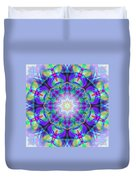 Rainbow Lotus Duvet Cover
