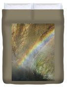 Rainbow Mist Duvet Cover