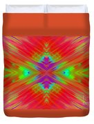 Rainbow Passion Abstract 1 Duvet Cover