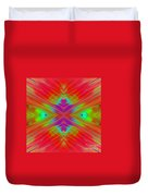 Rainbow Passion Abstract 2 Duvet Cover