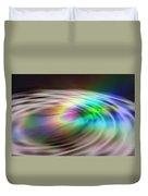 Rainbow Plunge Duvet Cover