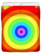 Rainbow Reality Duvet Cover by Mariola Bitner