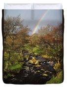 Rainbow River Duvet Cover