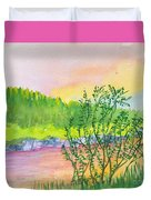Rainbow River Duvet Cover