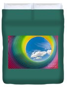 Rainbow Sky 2 Duvet Cover