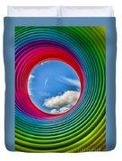 Rainbow Sky Duvet Cover