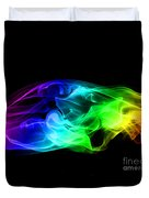 Rainbow Smoke Duvet Cover