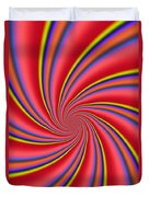 Rainbow Swirls Duvet Cover