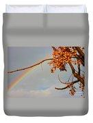 Rainbow Through Tree Duvet Cover