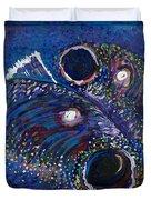 Rainbow Trout Detail A Duvet Cover