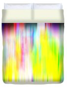 Rainbow Unleashed Duvet Cover