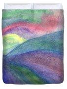 Rainbow Way Duvet Cover