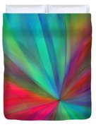 Rainbow Wheel Duvet Cover by ME Kozdron