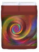Rainbow Whispers Duvet Cover