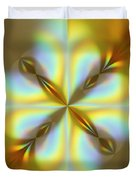 Rainbows Abstract Duvet Cover