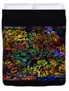 Rainbows In The Forest Duvet Cover