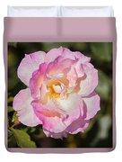 Raindrops On Rose Petals Duvet Cover