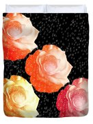 Raindrops On Roses - My Favorite Things Duvet Cover