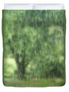 Rainfall Duvet Cover