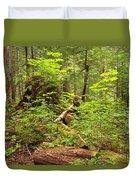 Rainforest Green Everywhere Duvet Cover