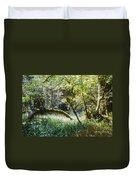 Rainforest Landscape Duvet Cover