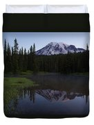 Rainier Awakening Duvet Cover