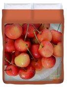 Rainier Cherries Duvet Cover