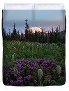 Rainier Pastel Dawn Duvet Cover