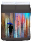 Rainman - Parallels Of Time Duvet Cover