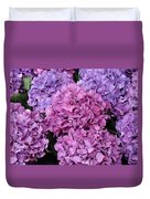 Rainy Day Flowers Duvet Cover