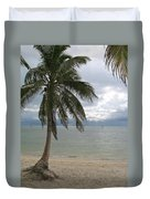 Rainy Day In Paradise Duvet Cover