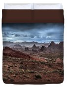 Rainy Day In The Desert Duvet Cover