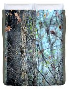 Rainy Day In The Forest Duvet Cover
