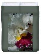 Rainy Orchid Duvet Cover