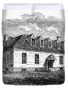 Raleigh Tavern, 1770s Duvet Cover
