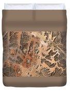 Ram Desert Transjordanian Plateau Jordan Duvet Cover