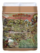 Rambles Through America Duvet Cover
