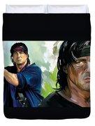 Rambo Artwork Duvet Cover