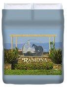 Ramona Welcome Duvet Cover