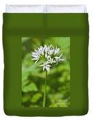 Ramsons Wild Garlic Allium Ursinum Duvet Cover