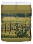 Ranch Cactus Duvet Cover