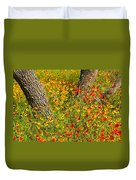 Ranch Wildflowers And Trees 2am-110522 Duvet Cover