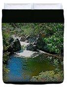 Rancheria Falls-yt Duvet Cover