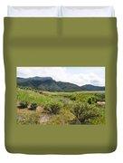 Rancho Sierra Vista Satwiwa Mountains II Duvet Cover