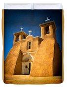 Ranchos Church Xxx Duvet Cover