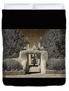 Ranchos Gate On Rice Paper Duvet Cover