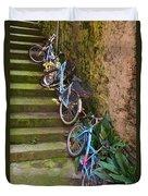 Range Of Bikes Duvet Cover