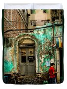 Rangoon's Colonial Remains Duvet Cover